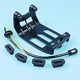 Arandela de goma para manguera de protección de tanque de combustible para gasolina, compatible con la desbrozadora de motor Honda GX35 GX35NT UMK435 HHT35S