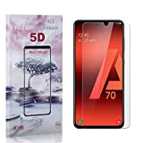 Bear Village® Vetro Temperato per Galaxy A70, 0.26mm, HD Trasparente, 9H Durezza, 3D Touc...