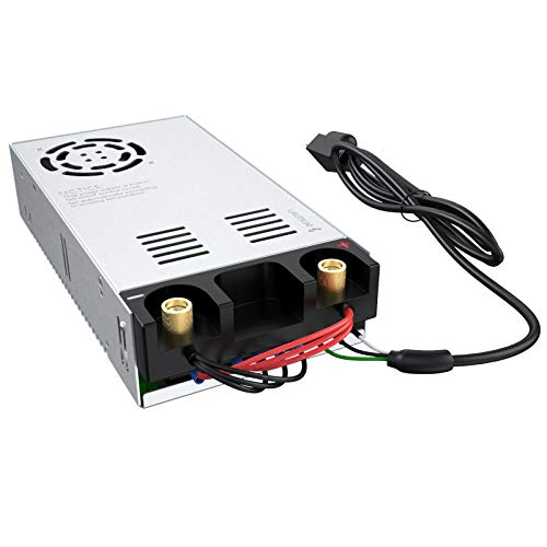 Anbull SMPS 110V AC to 24V DC Converter Power Supply Adapter Switch Transformer Max 25A 600W (New Version) Massachusetts