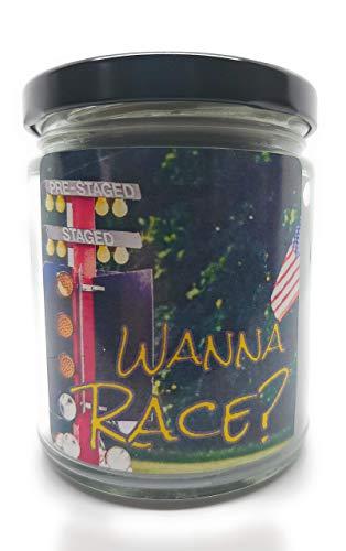 Blue Bug Candle Co. Wanna Race Candle 7.3 oz.