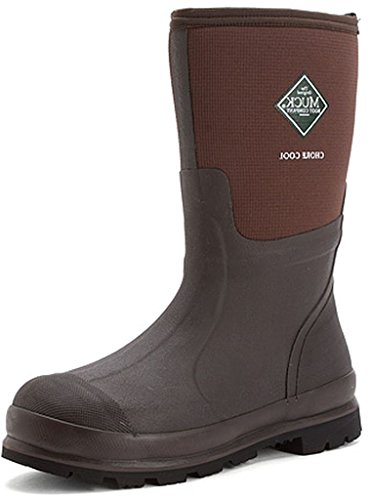 Muck Boot womens Chore Cool Mid-u industrial and construction boots, Brown, 8 Women 7 Men US
