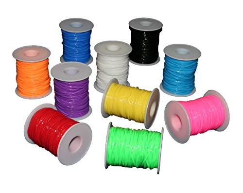 Smart Novelty Plastic Lacing Cord 10 Pack
