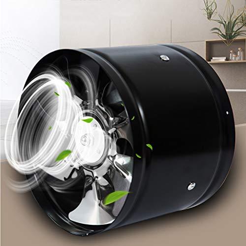 Ventilador de ventilación doméstico 7' Extintor Cilindro Oficina For Ventilador/Almacén/Dormitorio/Cocina Negro LITING
