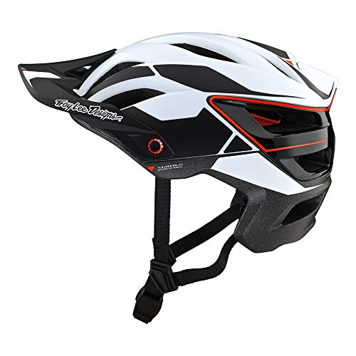 Troy Lee Designs Adult | All Mountain | Mountain Bike Half Shell A3 Helmet Proto W/MIPS (White, MD/LG)