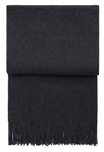 Elvang Luxury Plaid dark grey - 100% Baby-Alpakawolle - Fair Trade
