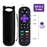 Universal Remote Control for Xbox One, Xbox One S, Xbox One X with A,B,X,Y Buttons, Standard IR Xbox Media Remote, with 7 Learning Buttons to Control TV Soundbar Receiver All in One
