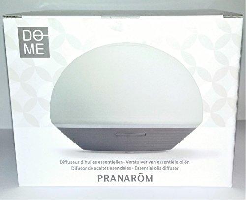 Difusor Ultrasonico Dome Bicolor Gris Beige Pranarom