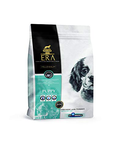 ERA Millennium - Cachorro para razas pequeñas, Pollo y Pavo, 2kg