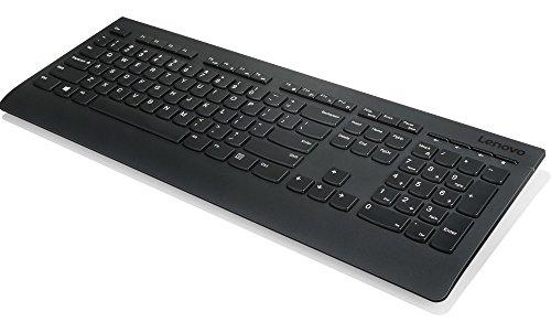 Lenovo 4X30H56854 Tastatur RF Wireless QWERTZ Deutsch Black - Tastaturen (Standard, Kabellos, RF Wireless, QWERTZ, Black)