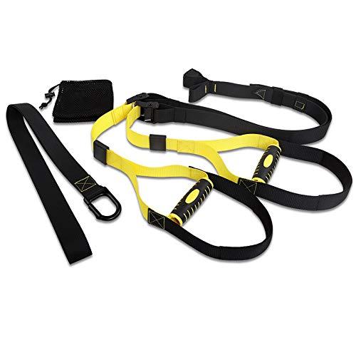 2bebetter Resistance Training Straps Bodyweight Resistance Trainer Kit Easy Setup Gym Home Indoors Resistance Straps Suspension Trainer Suspension Straps