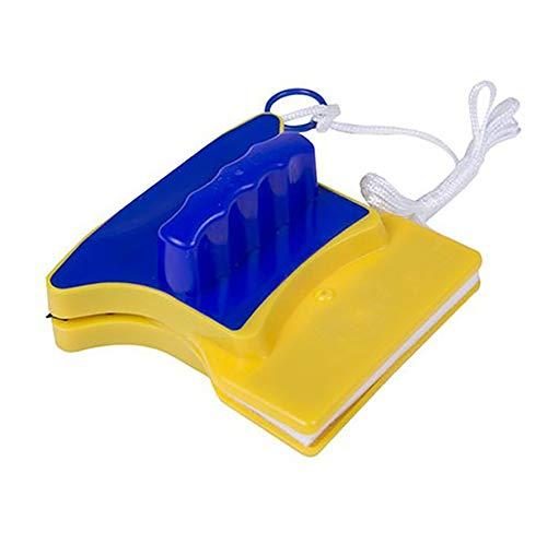 RoadRoma Limpiador de Vidrio magnético de Doble Cara de Forma Cuadrada con 2 algodón Extra (Aleatorio): Amazon.es: Hogar