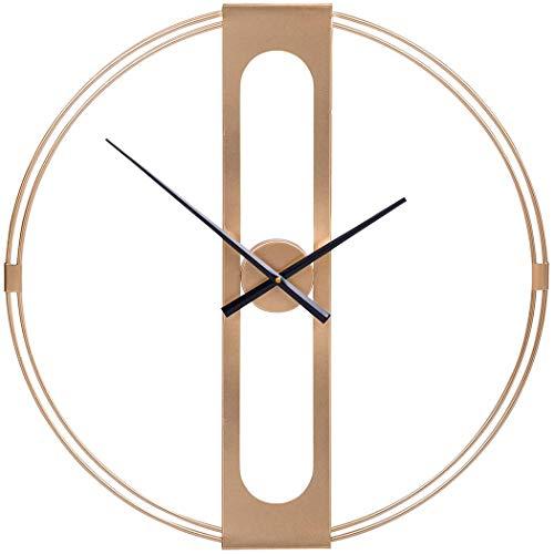 Giggi 60CM Gold Modern Minimalist Wall Clock | LARGE Wall Clocks | SILENT WALL CLOCK | Wall Clocks for LIVING ROOM modern | Skeleton clock, Wall Art, Room Decor, Kitchen Wall Clocks & Bedroom Decor