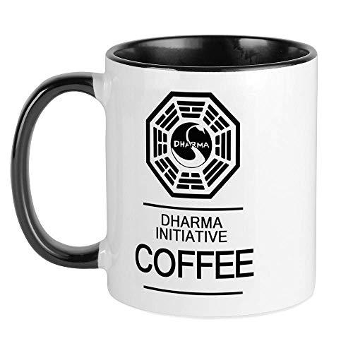 N\A Taza de café de la Iniciativa de Dharma Taza de café única, Taza de café