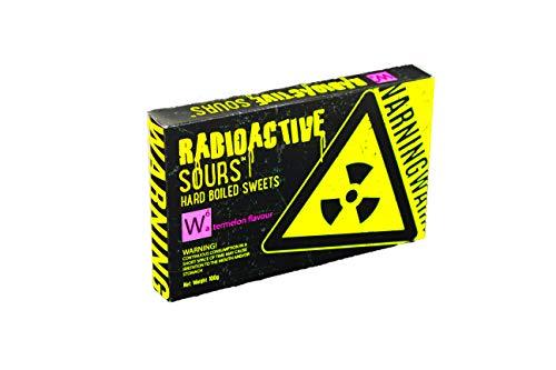 RADIOACTIVE SOURS DE30965 RADIOACTIVE SOURS Wassermelonen Drops, 100g Box ,