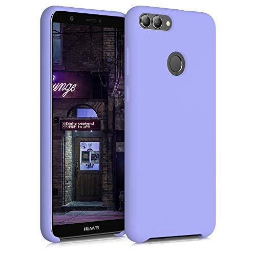 kwmobile Cover Compatibile con Huawei Enjoy 7S / P Smart (2017) - Cover Custodia in Silicone TPU - Back Case Protezione Cellulare Lavanda