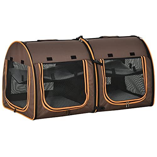 PawHut Transporttasche für Katzen, mit...