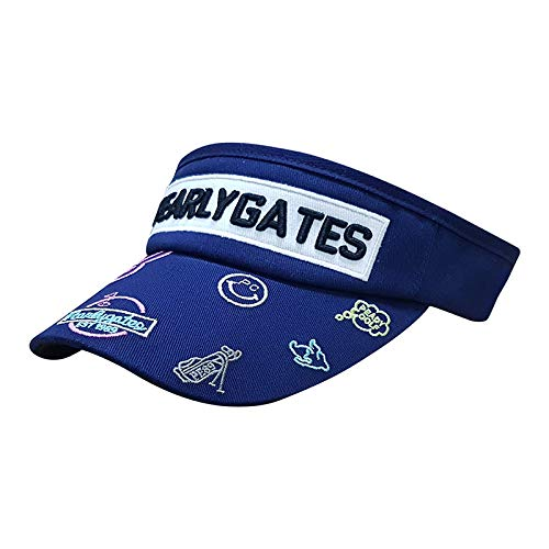 wtnhz Sombrero-Sombrero de Golf Sombrero para el Sol Femenino Primavera y Verano Protector Solar Sombra béisbol Pescador Sombrero de Montar