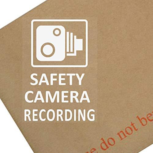 4x Sicherheit Kamera recording-60X 87MM Fenster stickers-vehicle Sicherheit Warnung Dash Cam signs-cctv, Auto, Van, Truck, Taxi, Mini, CAB, Bus, Coach