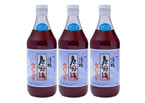 【 唐船峡食品 】 めんつゆ 涼味唐船峡めんつゆ 500ml ×3個