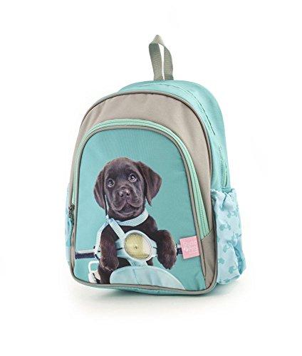 Studio Pets Schulrucksack/Backpack mit 2 Reißverschlussfächern Rucksack 18SP-903-SC, 35 cm, 12 L, Scooter