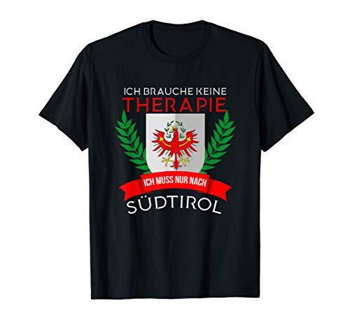 Südtirol Wappen Rot Weiß Italien Alpen Dolomiten Geschenk T-Shirt