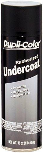 Dupli-Color UC101 Paintable Rubberized Undercoat - 16 oz. - 6 Pack