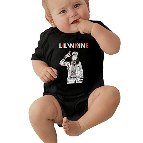 L-il Way-ne Cartoon Super Soft Cotton Baby Girls Onesies Comfy One-Piece Baby Bodysuit, Original Infant Top Onesies (0-24 Months) Baby T-Shirt