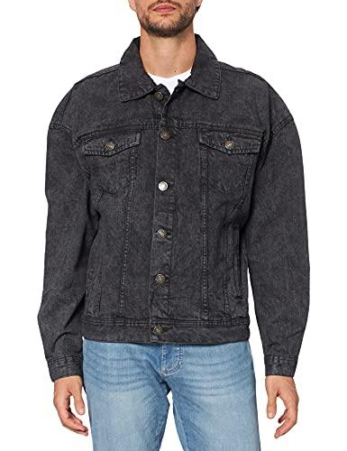Urban Classics Oversized Denim Jacket Chaqueta, Lavado a la Piedra, XL para Hombre