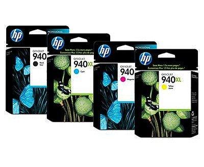 Multipack von HP für Officejet PRO 8500 Wireless (4x XL Patronen Black, C, M, Y) PRO8500 Wireless Tintenpatronen