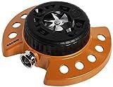 Dramm Available 15022 ColorStorm 9-Pattern Premium Turret Sprinkler with Heavy-D, Orange