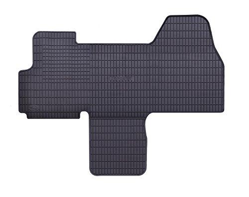 DAPA Prime Gummimatten Gummi Fußmatten Komplettset Schwarz perfekt passend mit Rand 1103786