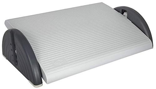 Wedo 2751037 Relax-Plus - Reposapiés plegable, color gris
