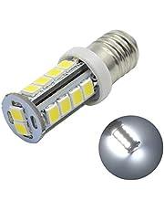 Ruiandsion 2 stks 6 V E10 LED Upgrade Zaklampen Lamp 6000 K Wit 2835 18SMD Chipset voor Zaklamp Licht, Negatieve Aarde