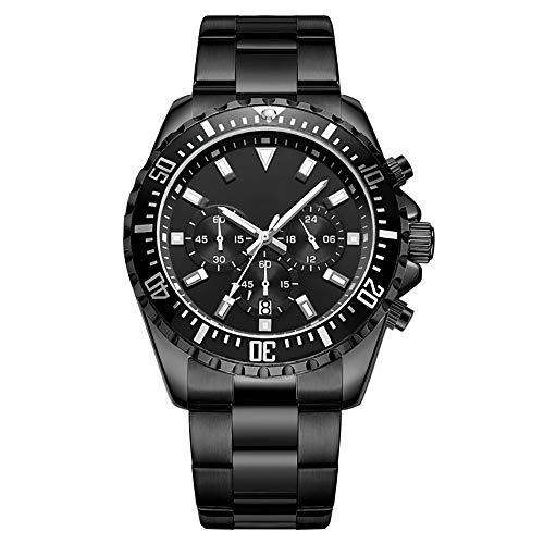 BAIYI Business Quartz horloge heren chronograaf roestvrij staal horloge waterdicht horloge