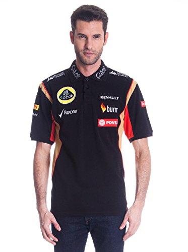 Lotus Mens F1 Team Polo Shirt 2014 XS