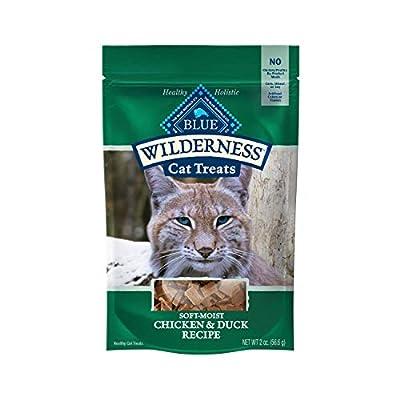 Blue Buffalo Wilderness Grain Free Soft-Moist Cat Treats, Chicken & Duck 2-oz bag