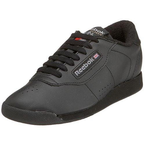 Reebok Women's Princess Aerobics Shoe, Black, 9.5 M