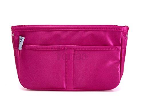 Periea - Handtaschen-Organizer Geldbeutel-Einsatz, 11 Fächer - Gabriella (Rose)