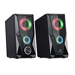 Zebronics Zeb-Warrior 2.0 Multimedia Speaker with Aux Connectivity,USB Powered and Volume Control,Zebronics,Zeb-Warrior,Zebronics speaker,Zebronics speaker usb,aux compatable speaker,multimedia speaker,speaker Zebronics Zeb Pluto,usb speaker