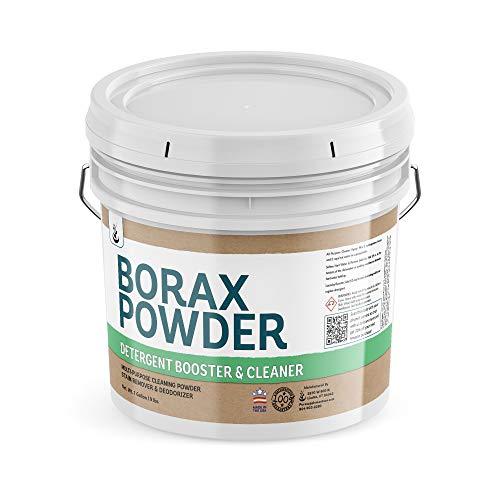 PURE Borax Powder (1 Gallon) Multipurpose Cleaner & Laundry Booster,...