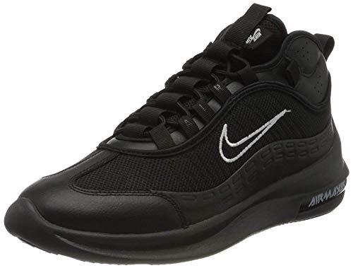 Nike Air Max Axis Mid, Scarpe da Running Uomo, Nero (Black/Black/White/Mtlc Silver 002), 42 EU
