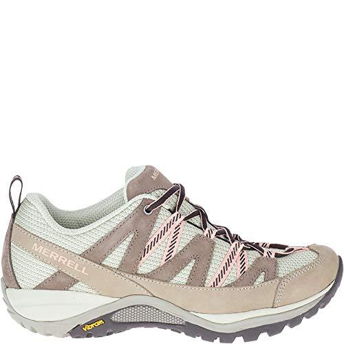 Merrell womens Siren Sport 3 Hiking Shoe, Moonrock/Peach, 6 Wide US
