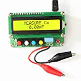 High Precision Inductance Capacitance Meter, OSCAR WOODS Digital Multimeter L/C Meter Tester for Small Inductance and Capacitance with Mini USB Interface