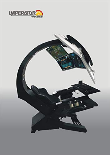 IW-320 IMPERATORWORKS Gaming Chair, Computer Chair for Office and Home; for Upto 5 Monitors