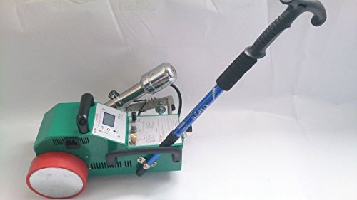 Baoshishan LC3000C Automatischer Heißluft PVC Banner Schweißgerät nahtlose Spleißmaschine Schweißmaschine Leister Heizung