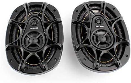 "lowest 2) KICKER DS693 6x9"" 280W 3-Way DS 2021 Series outlet online sale Car Coaxial Audio Speakers 11DS693 outlet sale"