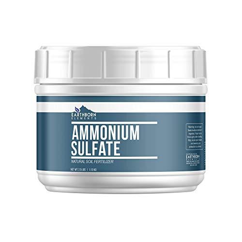 Ammonium Sulfate (Tub 2.5 lb) Soil Fertilizer, Rich in Nitrogen, Lowers pH, Inorganic Salt, Improves...