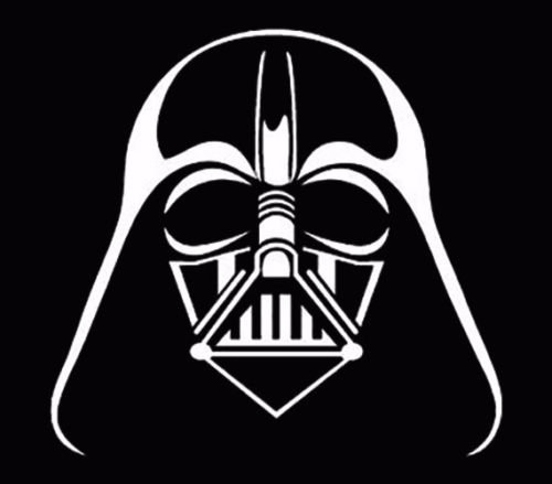 Ranger Products Darth Vader Window Sticker Vinyl Decal car Truck JDM Fun White, Die Cut Vinyl Decal for Windows, Cars, Trucks, Tool Boxes, laptops, MacBook - virtually Any Hard, Smooth Surface