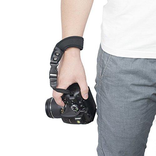 Camera Hand Strap, Sugelary Safety Camera Wrist Strap for Canon Nikon Sony DSLR Mirrorless Camera