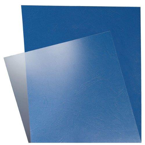 Leitz 73860003 Deckblatt Klarsichtfolie, A4, 100 Stück, glasklar